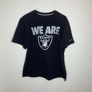 Nike Mens XL Black Oakland Raiders We Are Raiders